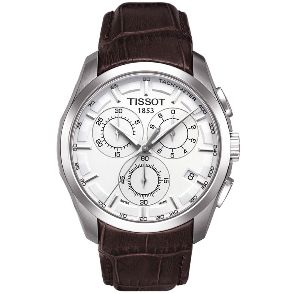 Montre Tissot COUTURIER CHRONOGRAPH (T035.617.16.031.00) pour HOMME