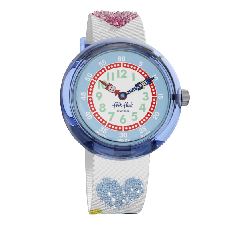 Montre Flik-Flak LOVE MY HEART (ZFBNP116) pour FILLE