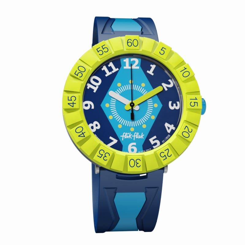 Montre Flik-Flak GET IT IN ROYAL (ZFCSP072) pour GARCON