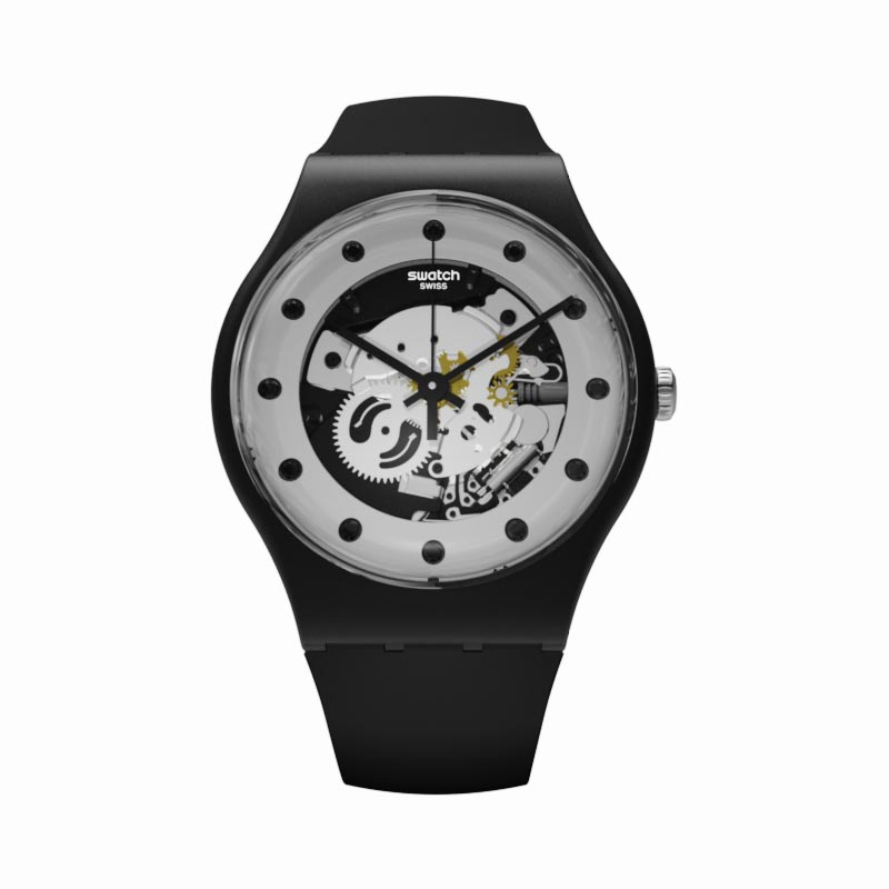 Montre Swatch SILVER GLAM SUOZ147 UNISEX