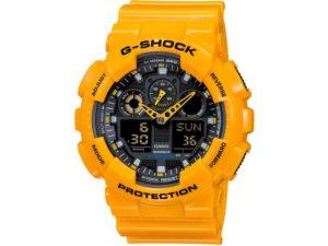 Montre Casio G-SHOCK GA-100A-9ADR pour HOMME